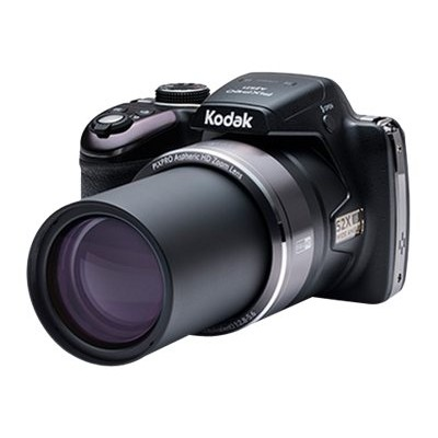 Kodak AZ521-BK PIXPRO Astro Zoom AZ521 - Digital camera - High Definition - compact - 16.38 MP - 52 x optical zoom - black