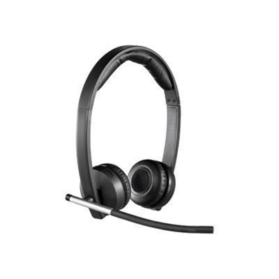 Logitech 981-000516 Wireless Headset Dual H820e - Headset - on-ear - wireless - DECT