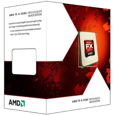 Advanced Micro Devices FD4350FRHKBOX Quad-Core FX-4350 4.20GHz Socket AM3+ Black Edition Boxed Processor