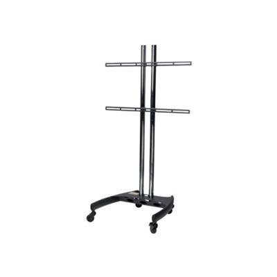 Premier Mounts BW60-UFA BW60-UFA - Mounting kit ( universal mount  cart base ) for LCD / plasma panel - black - screen size: 37-63