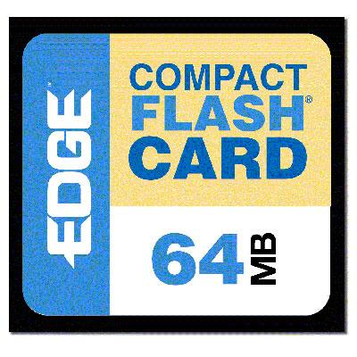 Edge Memory PE179441 64MB Premium CompactFlash Card