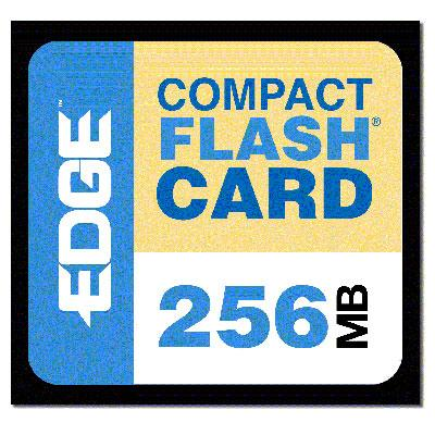 Edge Memory PE179472 256MB Premium CompactFlash card