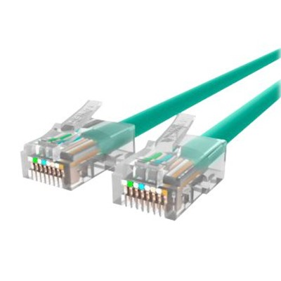 Belkin A3L791-08-GRN Patch cable - RJ-45 (M) to RJ-45 (M) - 8 ft - UTP - CAT 5e - stranded - green - for Omniview SMB 1x16  SMB 1x8  OmniView SMB CAT5 KVM Switc