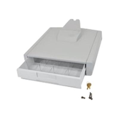 Ergotron 97-794 StyleView Primary Storage Drawer  Single - Storage box - gray white - cart mountable
