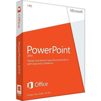 Microsoft AAA 01871 ESD PowerPoint 2013 Spanish Non Commercial Windows Electronic Software Download Version
