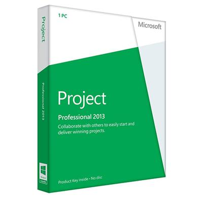 Microsoft AAA 01973 ESD Project Professional 2013 Spanish Windows Electronic Software Download Version