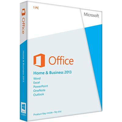Office Home & Business 2013 - English - Windows (Electronic Software Download Version)