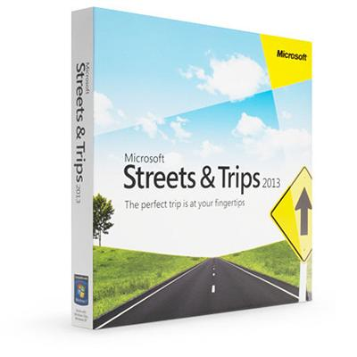 Streets & Trips 2013 - English - Windows (Electronic Software Download Version)