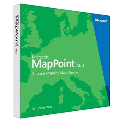 Microsoft B21-01467-esd Mappoint 2013 English European Maps Windows (electronic Software Download Version)