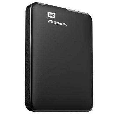 WD WDBUZG0010BBK-NESN 1TB Elements Portable Hard Drive - USB 3.0