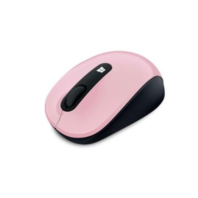 Microsoft 43U 00017 Sculpt Mobile Mouse Mouse right and left handed optical 3 buttons wireless 2.4 GHz USB wireless receiver light orchid