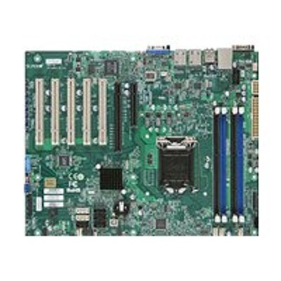 Super Micro MBD-X10SLA-F-O SUPERMICRO X10SLA-F - Motherboard - ATX - LGA1150 Socket - C222 - USB 3.0 - 2 x Gigabit LAN - onboard graphics