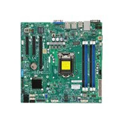 Super Micro MBD-X10SLL-F-O SUPERMICRO X10SLL-F - Motherboard - micro ATX - LGA1150 Socket - C222 - USB 3.0 - 2 x Gigabit LAN - onboard graphics