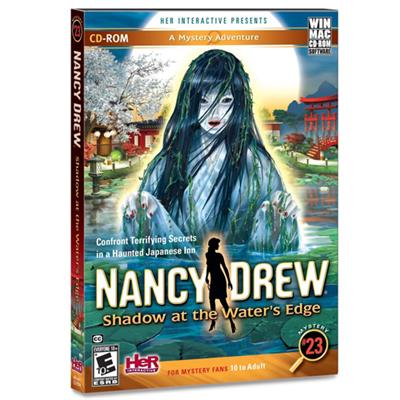 HER Interactive HER60079 ESD Nancy Drew Shadow at the Waters Edge Win Electronic Software Download Version
