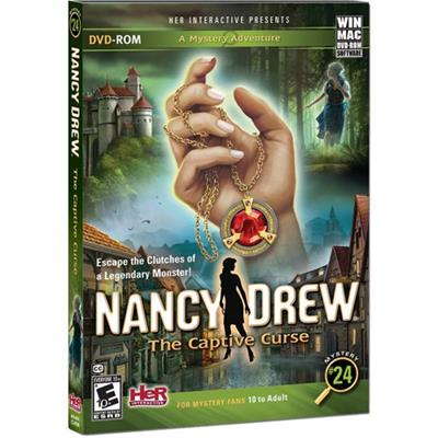 HER Interactive HER60082 ESD Nancy Drew The Captive Curse Win Electronic Software Download Version