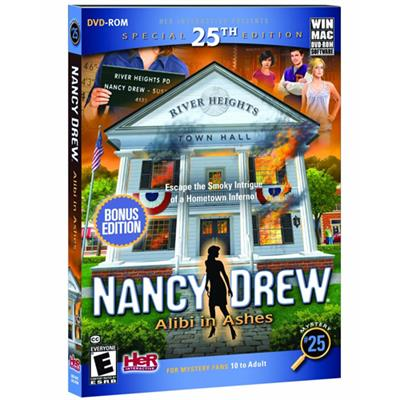 HER Interactive HER60083 ESD Nancy Drew Alibi in Ashes Win Electronic Software Download Version