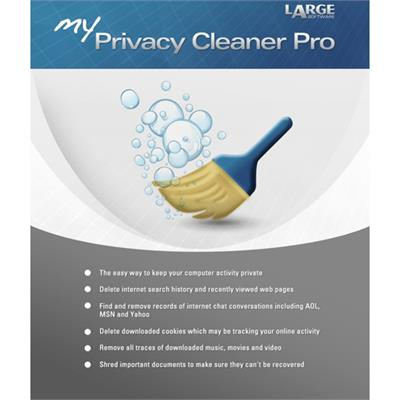 Large Software MPCP2012 ESD My Privacy Cleaner Pro Win Electronic Software Download Version