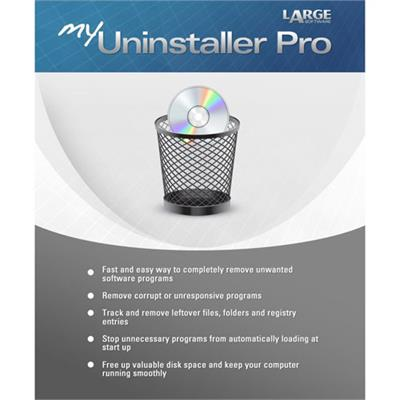Large Software MUP2012 ESD My Uninstaller Pro Win Electronic Software Download Version