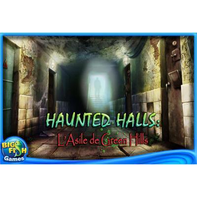 Big Fish Games ONSNENHHGNHL ESD Haunted Halls Green Hills Sanitarium Win Electronic Software Download Version