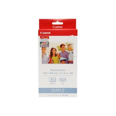 Canon 7737A001 KP36IP Ink/Paper Set