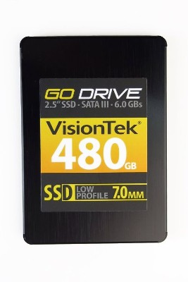 Visiontek 900625 GoDrive Series - Solid state drive - 480 GB - internal - 2.5 - SATA 6Gb/s