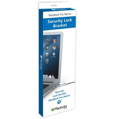 Compulocks Brands MBPR15BRWEDGE MacBook Security Bracket With Wedge Security Cable Lock - Security cable lock - 6 ft - for Apple MacBook Pro with Retina display