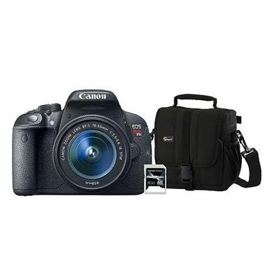 Canon 8595B003-3-KIT EOS REBEL T5I EF-S 18-55MM IS W/ CASE (