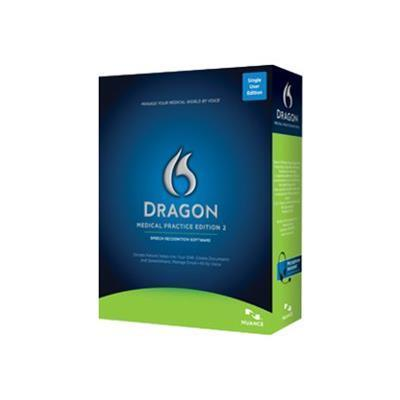 Nuance Communications A789A-RC8-2.0 Dragon Medical Practice Edition 2 - Box pack (upgrade) - 1 user - upgrade from Dragon Medical 10/11 / Dragon Medical Small P