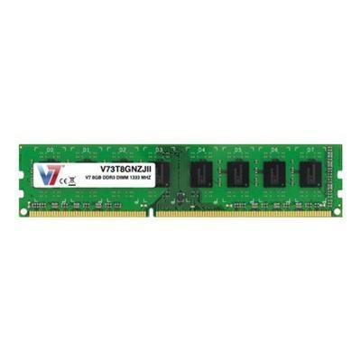 V7 V73T8GNZJII 8GB DDR3 1333MHz PC3-10600 DIMM Desktop Memory