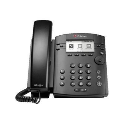 Polycom 2200-46161-025 VVX 310 6LINE DT PHNE GB ETHRNT W/HD VO