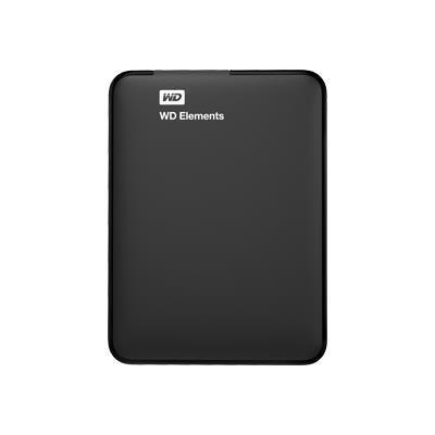 WD WDBU6Y0020BBK-NESN WD Elements Portable - Hard Drive - 2 TB - USB 3.0