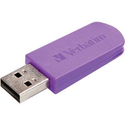 Verbatim 49833 32GB Store 'n' Go Mini USB Drive - Violet