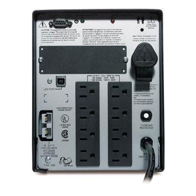 APC SUA1000XL Smart-UPS XL Tower UPS 1000VA USB and Serial 120VAC