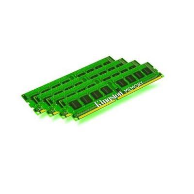 Kingston KVR16R11S4K4/32 32GB 1600MHz DDR3 ECC Reg CL11 DIMM (Kit of 4) SR x4 with TS
