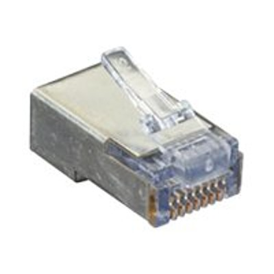 Black Box C5EEZSP-50PAK Network connector - RJ-45 (M) - CAT 5e - molded (pack of 50)