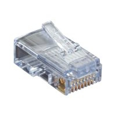 Black Box C5EEZUP-25PAK Network connector - RJ-45 (M) - CAT 5e - molded (pack of 25)