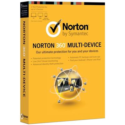 Symantec 21290157-ESD Norton 360 Multi-Device 2013 (Electronic Software Download Version)