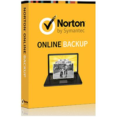 Symantec 21290182 ESD Norton Online Backup 25GB Electronic Software Download Version