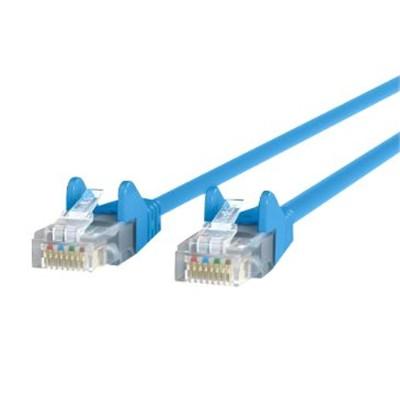 Belkin A3L791-02-BLU-S CAT 5e snagless patch cable blue