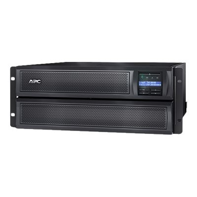 APC SMX2000LV Smart-UPS X 2000 Rack/Tower LCD - UPS (rack-mountable / external) - AC 120 V - 1800 Watt - 1920 VA - RS-232  USB - output connectors: 10 - 4U - Ca