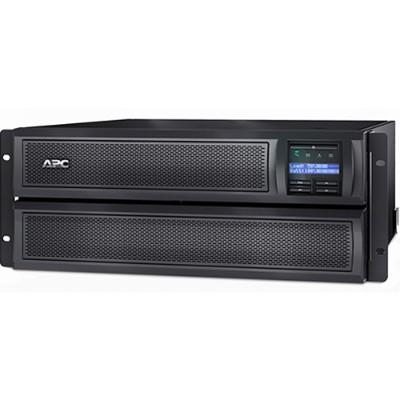 APC SMX2000LVNC Smart-UPS X 2000 Rack/Tower LCD - UPS (rack-mountable / external) - AC 120 V - 1800 Watt - 1920 VA - Ethernet 10/100  RS-232  USB - output conne