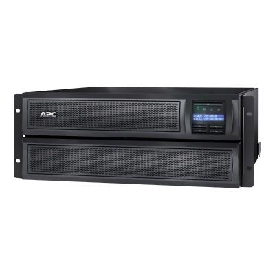 APC SMX3000LV Smart-UPS X 3000 Rack/Tower LCD - UPS (rack-mountable / external) - AC 120 V - 2700 Watt - 3000 VA - RS-232  USB - output connectors: 10 - 4U - Ca