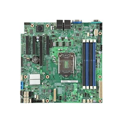 Intel DBS1200V3RPL Server Board S1200V3RPL - Motherboard - micro ATX - LGA1150 Socket - C226 - USB 3.0 - 2 x Gigabit LAN - onboard graphics
