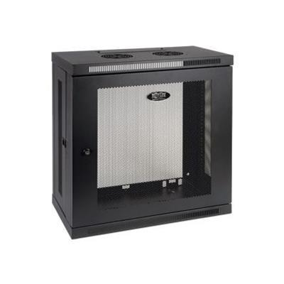 TrippLite SRW12U13 12U Wall Mount Rack Enclosure Cabinet Wallmount 13 Depth with Doors & Sides 200lb Cap