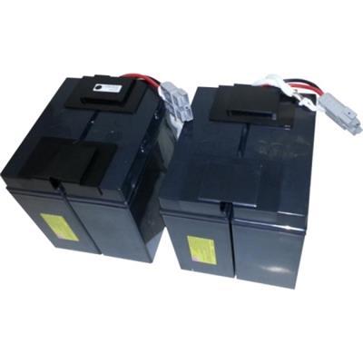 eReplacements SLA110-ER RBC110-SLA110-ER - UPS battery lead acid - for P/N: BE550G  BE550G-CN  BE550G-LM  BE550R  BE550R-CN  BR650CI  BR650CI-AS  BR650CI-RS