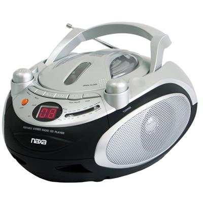 Naxa Electronics NPB245 NAXA NPB245 PORTABLE CD PLAYER & AM/FM