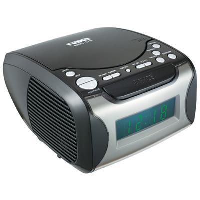 Naxa Electronics NRC175 NAXA NRC175 DIGITAL ALARM CLOCK RADIO &