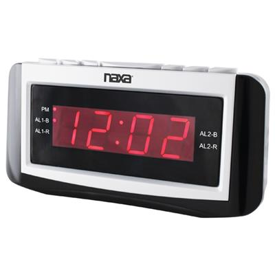 Naxa Electronics NRC171 NAXA NRC171 DIGITAL ALARM CLOCK WITH LA
