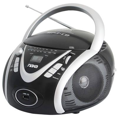 Naxa Electronics NPB246 NAXA NPB246 PORTABLE CD/MP3 PLAYER WITH