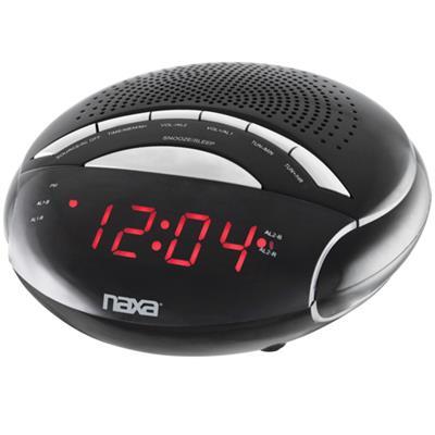 Naxa Electronics NRC170 NAXA NRC170 DIGITAL ALARM CLOCK WITH AM